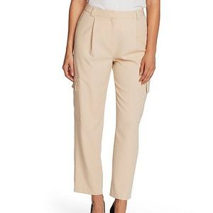 Vince Camuto Twill Cargo Slim Leg Ankle Pants